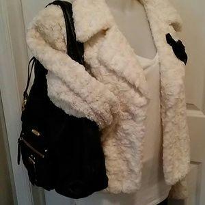 Black Michael Kors Austin Leather Shoulder Bag
